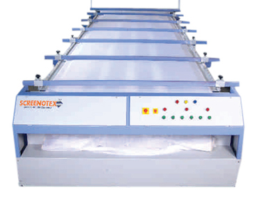 flat bed screen printing machine manufacturer-ahmedabad